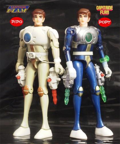 Les jouets CAPITAINE FLAM - Captain Future - Futuro  Pipo